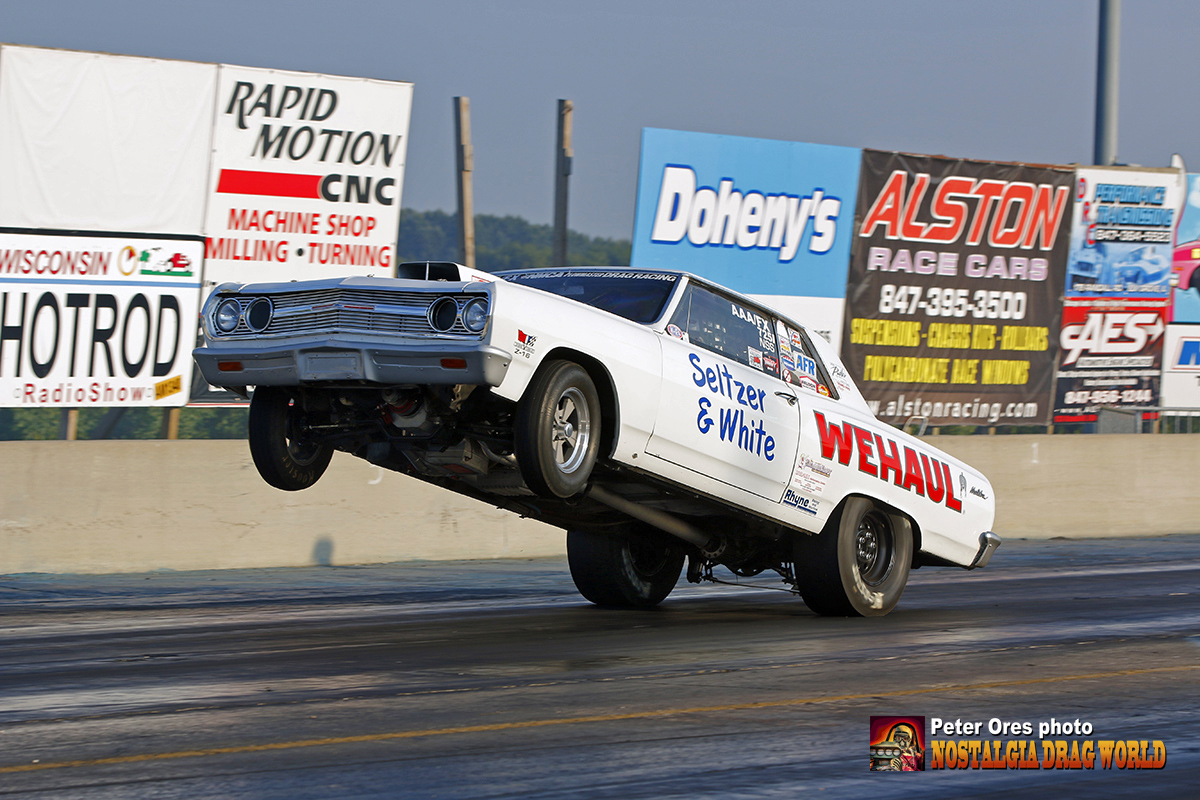 Nostalgia Super Stock Time Machine Nationals At Great Lakes - Grinwald ford car show