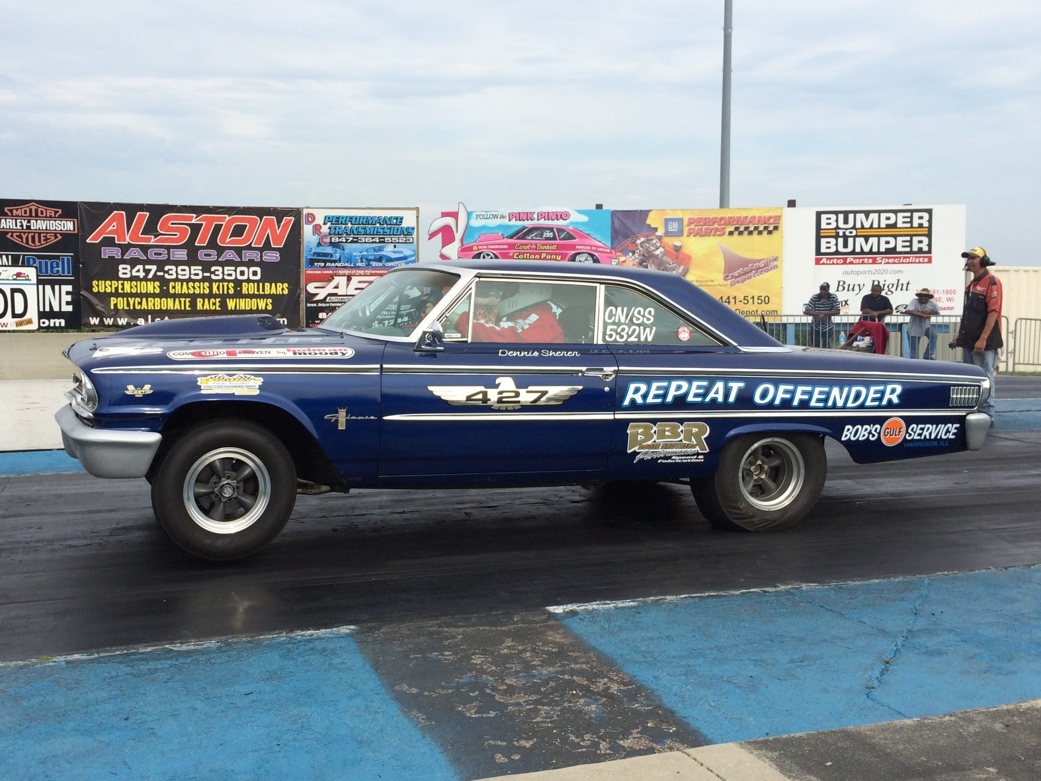 Nostalgia Super Stock Meet Our Members 1964 Dodge 330 Max Wedge Repeatoffender02